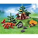 Playmobil Forest Lodge Forest Animals with Cave