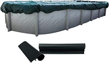 Buffalo Blizzard SUPREME PLUS Swimming Pool Winter Cover w// Complete Package Kit