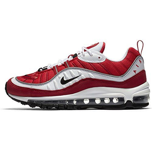 Max Donna NIKE 98 W da Scarpe Red White Air 101 Multicolore Fitness Black Gym qwqAEnW0d1