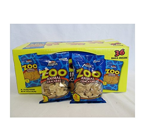 Crackers Zoo Austin - Austin Zoo Animal Crackers 36 Individually Packages of 2 Oz Each Sms-8