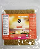 Organic Coconut Wraps, 6 Pack Coco Nori Curry (Raw, Vegan, Paleo, Gluten Free wraps) Made from young Thai Coconuts