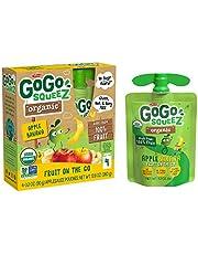 GoGo Squeez Organic Apple Banana, 90.7g (Pack of 4)