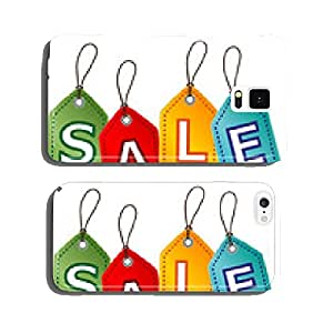 Sale Tags, vector cell phone cover case Samsung S6