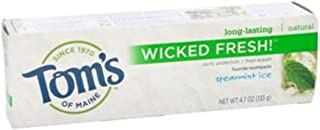 product image for Tom's of Maine Natural Wicked Fresh Fluoride Totohpaste Spearmint Ice 4.70 oz (Pack of 7)
