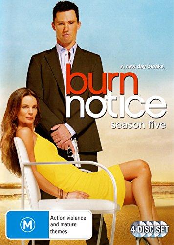 Burn Notice Season 5 | 4 Discs | NON-USA Format | PAL | Region 4 Import - Australia -  DVD, Gabrielle Anwar, Bruce Campbell Jeffrey Donovan