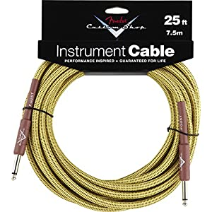 Fender 099 0820 032 7,5 m Instrument Cable Tweed