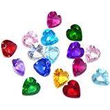 """Pro Jewelry 1 Pack of 12 """" Assorted Mix Heart Birthstone Crystal 5mm """" for Floating Charm Lockets 002"""