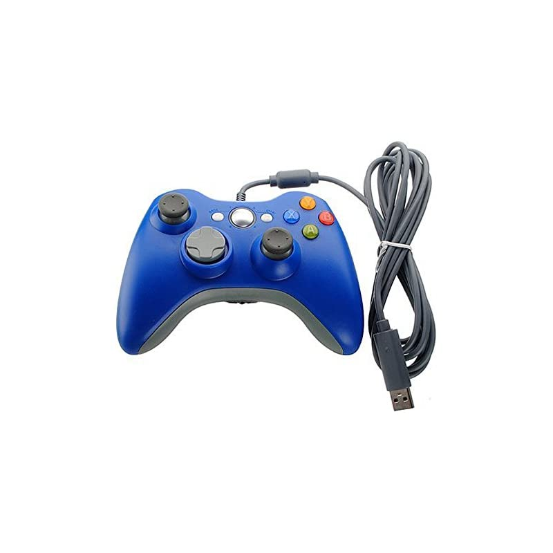 blue-wired-usb-pad-joypad-game-controller