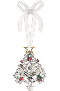 Amazon.com: 4147 HAIR STYLIST Chirstmas Ornament for ...