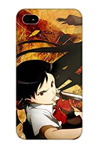 Ideal Gift - Tpu Shockproof/dirt-proof Anime Blood Cover Case For Iphone(4/4s) With Design