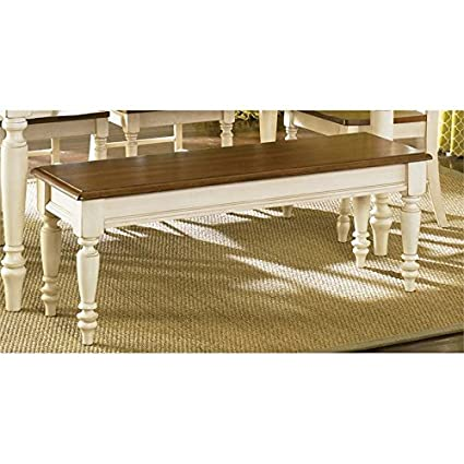 Amazon.com - Liberty Furniture Low Country Dining Bench in ...