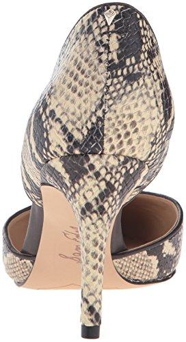 Sam Edelman Donna Telsa Dorsay Pump Moderno Serpente Avorio