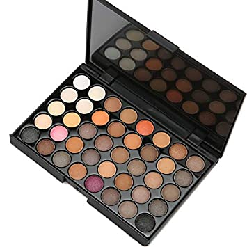 Beauty Essentials Just Matte Eye Shadow Pallete Make Up Earth Palette Makeup Glitter Waterproof Lasting Makeup Easy To Wear 40 Color Eye Shadow