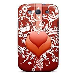Premium Galaxy S3 Case - Protective Skin - High Quality For Flowers Of Love