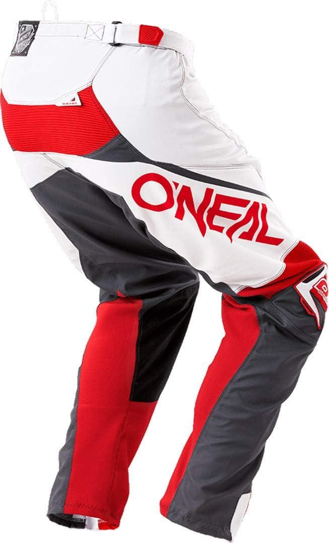 White//Gray, Size 30 ONeal Unisex-Adult Mayhem Lite Blocker Pant