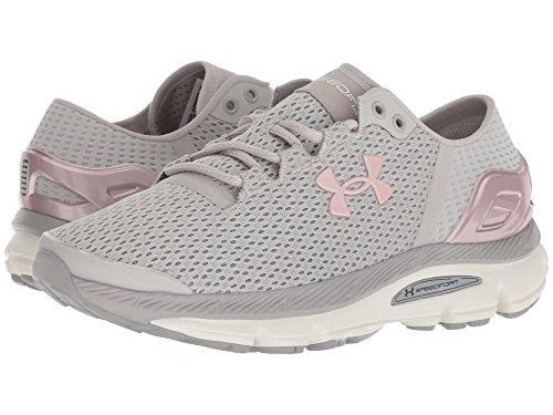 麺レルム液化する[UNDER ARMOUR(アンダーアーマー)] レディースランニングシューズ?スニーカー?靴 UA SpeedForm Intake 2 Ghost Gray/Tin/Flushed Pink 8.5 (25.5cm) B - Medium