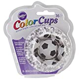 Wilton Standard Baking Cups, Soccer Color