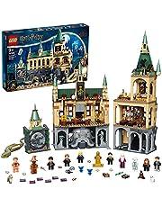 LEGO 76389 Harry Potter De Geheime Kamer van Zweinstein Bouwset met de Grote Zaal, 20-jarig Jubileumset met Gouden Poppetje