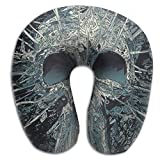 VVGHOPOI Mages Mexican Skull Premium Memory Foam Neck Pillow, Printed, Removable Washable Cover