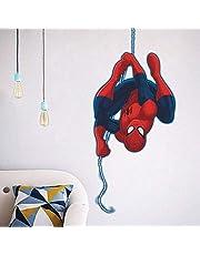 Spiderman Spiderman Spiderman 3D-effect Spider-Man Ultimate Muursticker Wandsticker Spiderman Muursticker