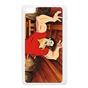 iPod Touch 4 Phone Ceses white Beauty and the Beast Gaston BF868290