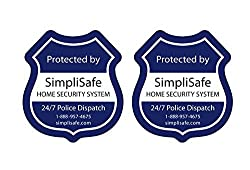 Image of the product SimpliSafe Window Decals that is listed on the catalogue brand of SimpliSafe.