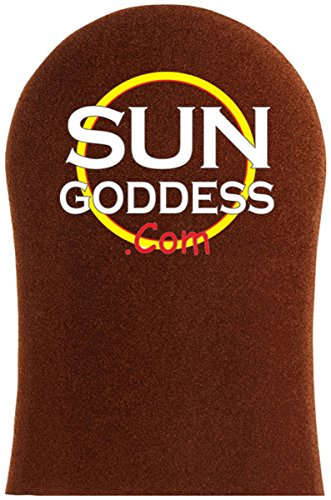 Sun Goddess - BROWN - Best Sunless Self Tanning Mitt - Sunle