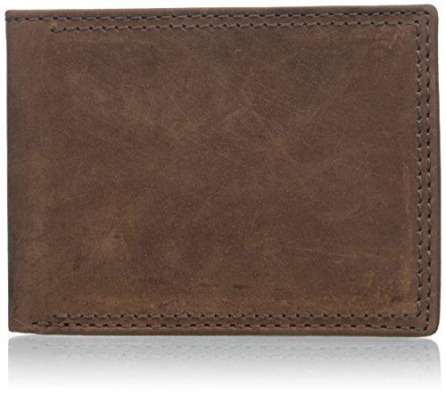 Buxton Men's Thinfold Bifold Wallet