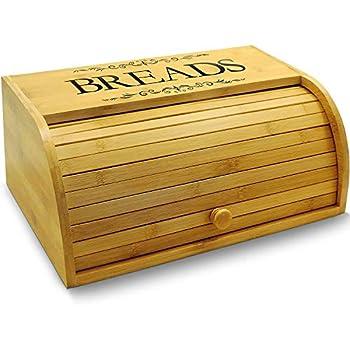 Amazon Com Generic Farmhouse Bread Box For Kitchen