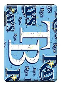 LarryToliver Baseball Tampa Bay Rays blue color case battery cover for ipad mini