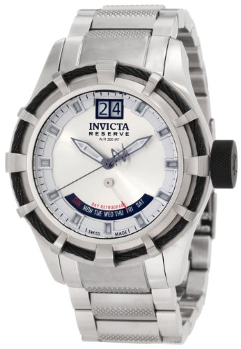 invicta-mens-1580-reserve-retrograde-silver-dial-stainless-steel-watch