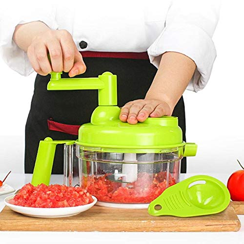 Food Choppers Vegetable Choppers Garlic Cutter Manual Vegetable Fruit Twist Shredder Food Choppers Cutter Meat Grinder Kitchen Tools