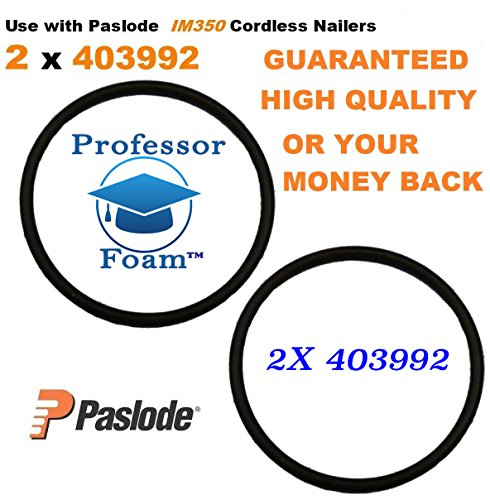 Professor Foam 2X Paslode #403992 Cordless Framing Nailer TOP CYLINDER HEAD IMCT O ring 900420 ()