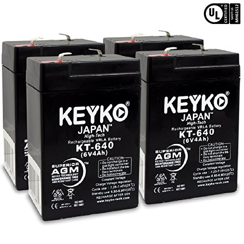 6v 4ah sealed lead acid battery - 5