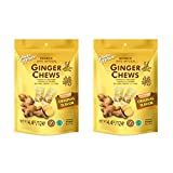 Prince Of Peace 100 Percent Natural Ginger Candy Chews, 4.4 Ounce (Pack of 2)