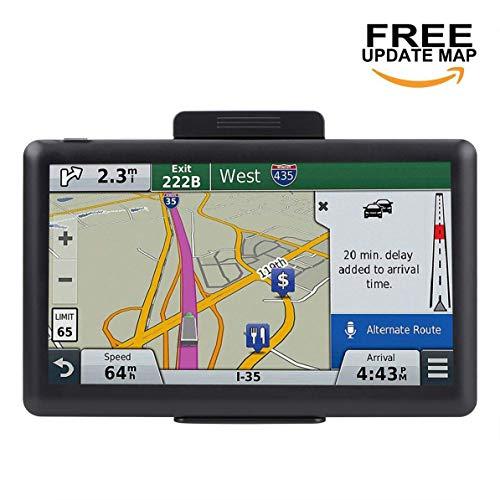 ADiPROD Navigation System for Car, 7 inch 8GB Car GPS Spoken Turn-to-Turn Traffic Alert Vehicle GPS Navigator, Lifetime Map Updates by ADiPROD
