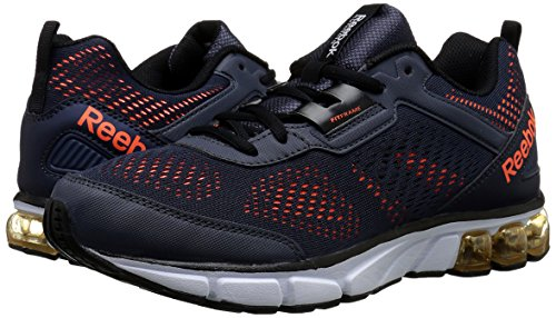 Jet Shoe Solar Graphite Running Dashride White Reebok Black Orange 5jLA3R4q