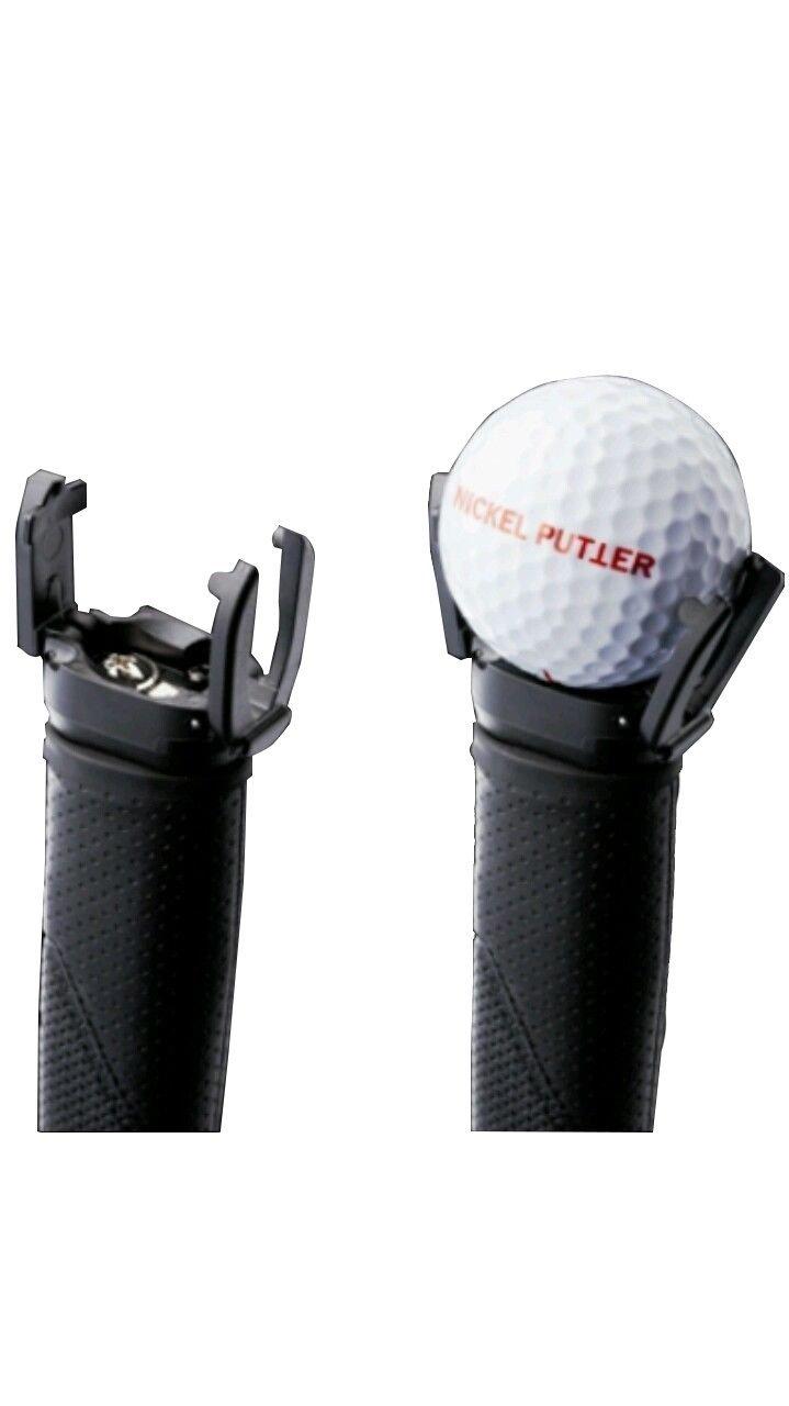 GCAゴルフボールピックアップレトリーバー、バックセーバークローパットオンパターグリップ 8PCS  B00OHCQX1M
