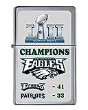 Philadelphia Eagles Super Bowl Champs Score Flip Top Lighter NUMBERED to 250