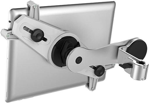 - Winkel verstellbar f/ür iPad Galaxy Tab usw von 8,9 bis 10,4 Zoll deleyCON Universal Tablet Auto KFZ Halterung f/ür die Kopfst/ütze mit /& ohne Case nutzbar Nicht breiter als 245mm Schwarz