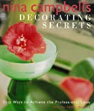 Nina Campbell's Decorating Secrets, Nina Campbell, 1552781585