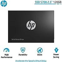 """SSD S700 120Gb 2, 5"""" 2DP97AA#ABC, HP, Armazenamento Interno SSD, Preto"""