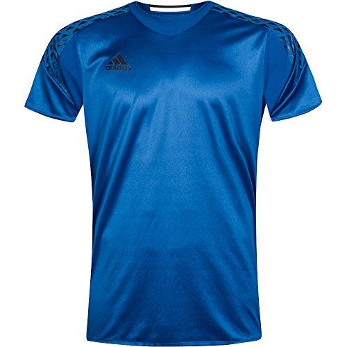adidas Mens ONORE Short Sleeve Goalkeeper Jersey For Soccer Blue (Adidas Soccer Jerseys Goalie)