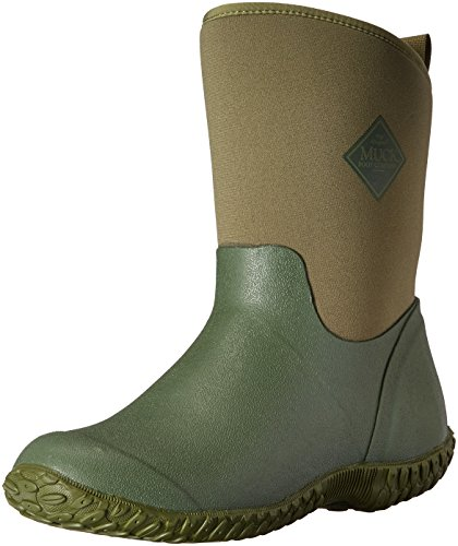 Muck Boot Women's Muckster 2 Mid Snow Boot, Green with Floral Print Lining, 9 B US by Muck Boot