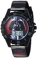 Star Wars Boy's Quartz Plastic Casual Watch, Color:Black (Model: DAR3514)