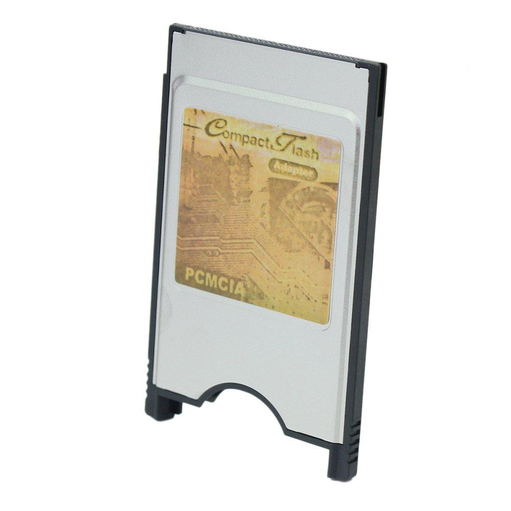 1x Ordinateur Portable PCMCIA Compact Flash CF Lecteur Disque Carte PC Adaptateur Silver styleinside km-2hmz-z1eu