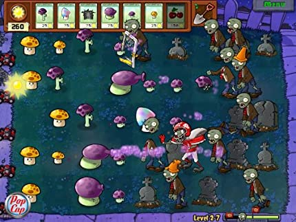 Amazon com: Plants vs  Zombies: Game of the Year Edition: PC