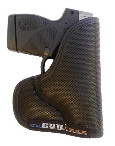 Garrison Grip Custom Fit Leather-Trim Poly Pocket Holster Fits Taurus PT738 TCP 380 (B)