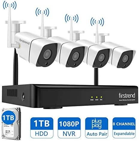 Security Wireless Firstrend Surveillance Installed product image