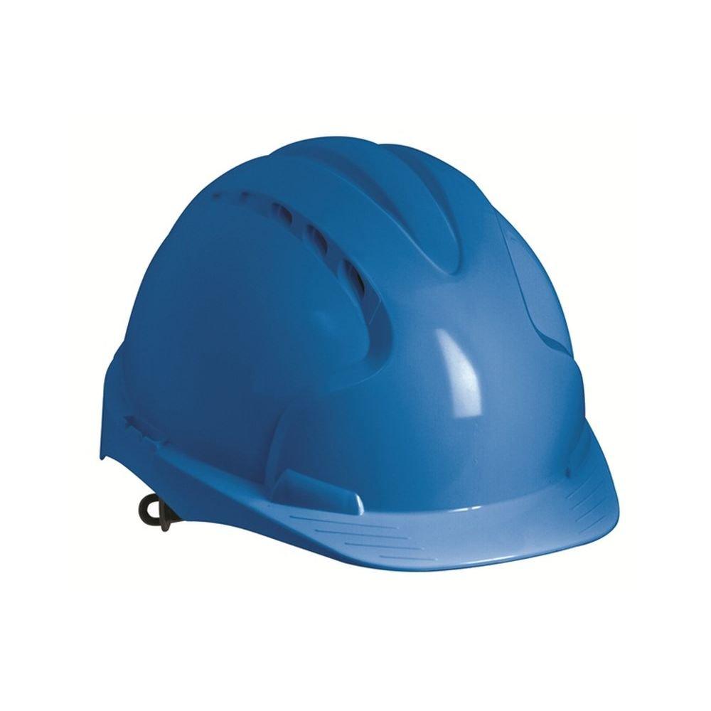 JSP Evo3 Helm, Bauhelm, Schutzhelm gelb mit Belueftung